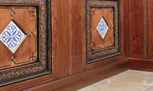 azulejos para artesonados